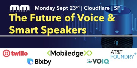 The Future of Voice and Smart Speakers tickets