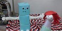 Box robots and Foam Doll People School Holidays Workshop