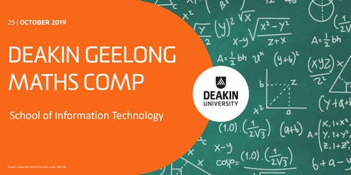 Deakin Geelong Maths Comp