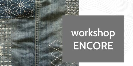 ENCORE - Sashiko Workshop with Donna Gordge at Fabrik tickets