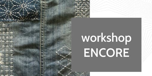 ENCORE - Sashiko Workshop with Donna Gordge at Fabrik