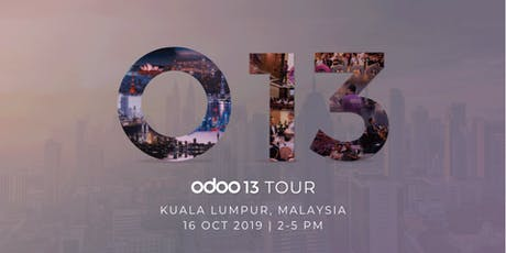 Odoo 13 Tour - Kuala Lumpur tickets