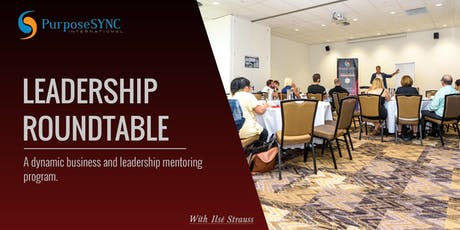 Leadership Roundtable - October 2019 tickets