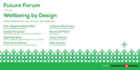 Future Forum_Wellbeing by Design tickets