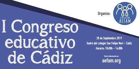 1er Congreso Educativo de Cádiz entradas