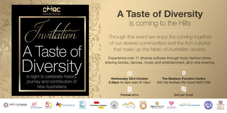 A  Taste of Diversity tickets