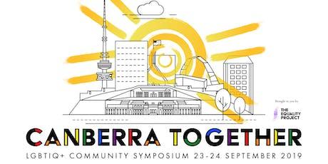 Canberra Together | LGBTIQ+ Community Symposium tickets