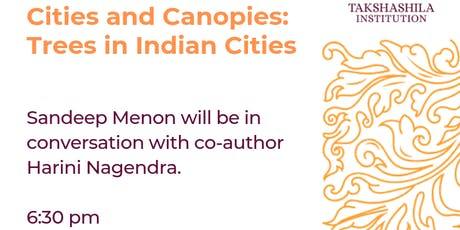 Book Lounge | Cities and Canopies: Trees in Indian Cities tickets