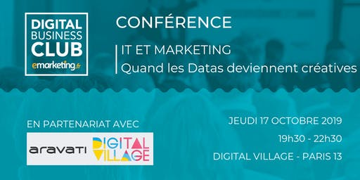 [IT & MARKETING] Quand les datas deviennent créatives.
