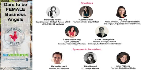 """Dare to be a women business angel"". by Women in FrenchTech tickets"