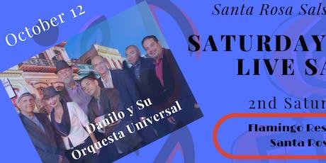 Danilo y Su Orquesta Universal at The Flamingo - October 12, 2019 tickets