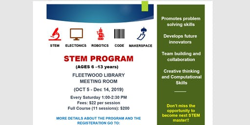 STEM/Robotics/Coding Program For Kids Surrey (Ages 6-13)-Individual sessions