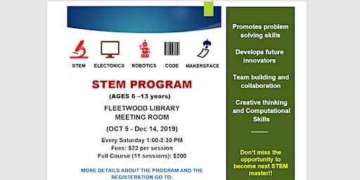 STEM/Robotics/Coding Program For Kids Surrey (Ages 6-13)-Individual sessions