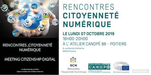 Rencontres citoyenneté numérique