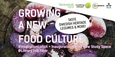 InspirationLunch: Growing a New Food Culture + Study Space Inauguration!