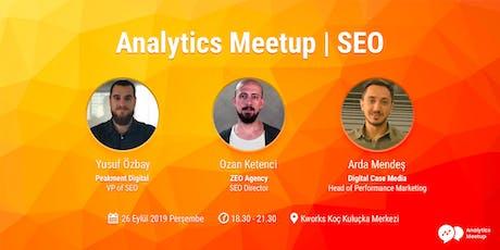 Analytics Meetup | SEO tickets