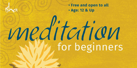 Meditation for Beginners tickets