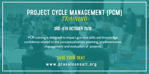 PROJECT CYCLE MANAGEMENT (PCM)TRAINING