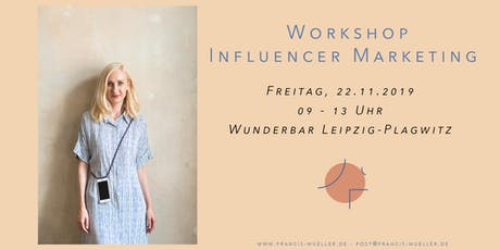 Workshop Influencer Marketing Tickets