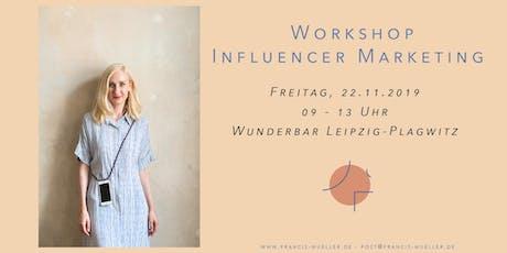 Workshop Influencer Marketing Tickets