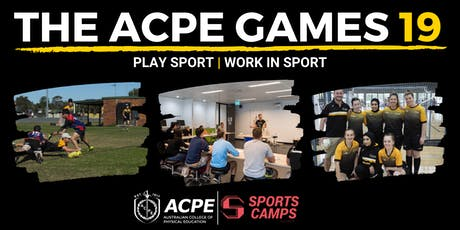 The ACPE Games l Play Sport l Work in Sport tickets