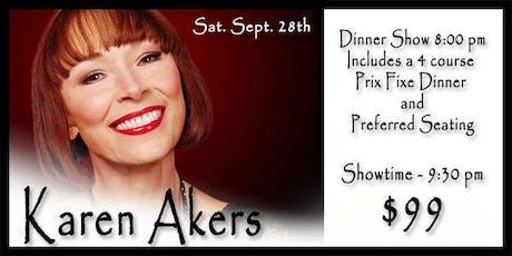 Karen Akers 9/28 tickets