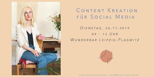 Workshop Content Kreation für Social Media