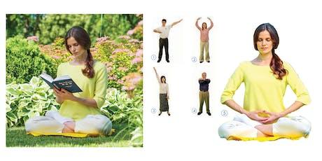 Falun Dafa 9-Day Meditation Workshop (Each day 2 hours) -- Free tickets