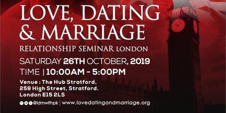 Love, Dating  and Marriage UK tickets