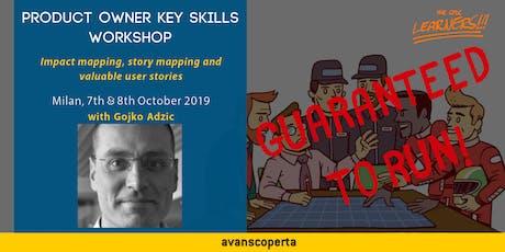Product Owner Key Skills 2019 - Gojko Adzic (Milan) biglietti