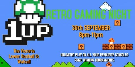 1UP Retro Gaming Night tickets