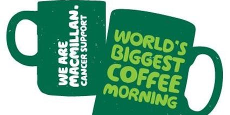 MacMillan Coffee Morning with Newman Flexible Space & Tangent Office tickets