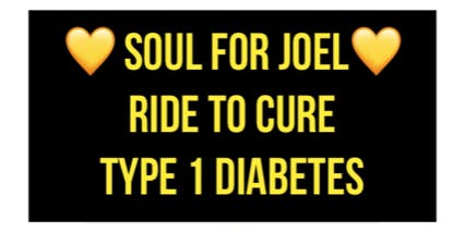 SOUL FOR JOEL - RIDE TO CURE TYPE 1 DIABETES