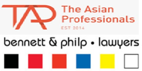 The Asian Professionals (TAP)|Networking Evening at Bennett & Philp Lawyers tickets