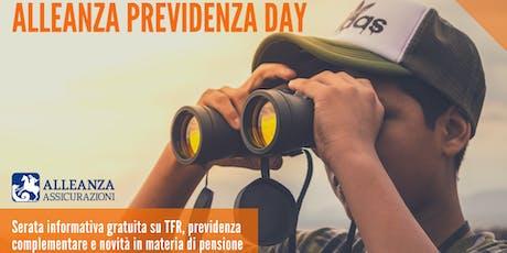 5^ Alleanza Previdenza Day biglietti