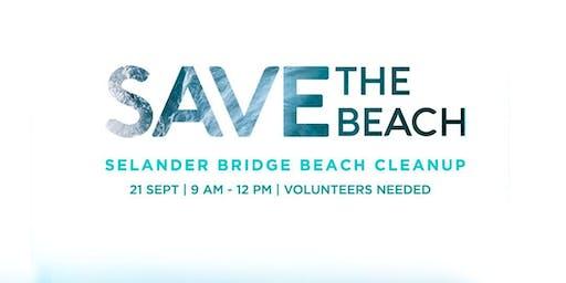 Selander Bridge Beach Cleanup