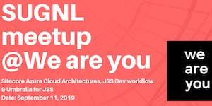 SUGNL Meetup - September 11, 2019 (We are you - Den...