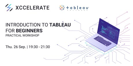 Introduction to Tableau for Beginners: Practical Workshop tickets