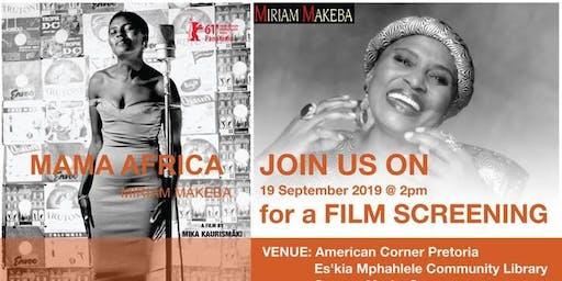 Mama Africa Film Screening & Panel Discussion