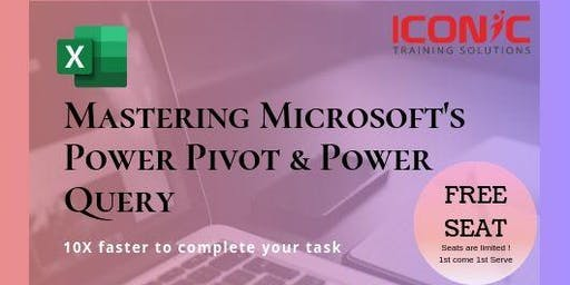 Discover Mastering Power Pivot & Power Query