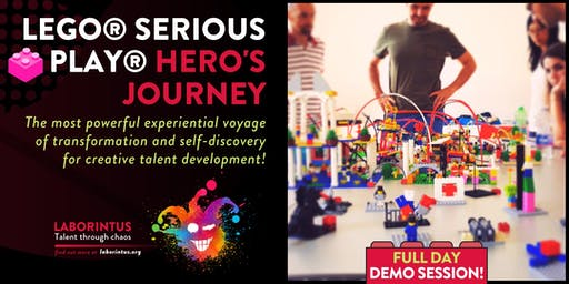 LEGO® SERIOUS PLAY® HERO'S JOURNEY - for talent development and personal transformation