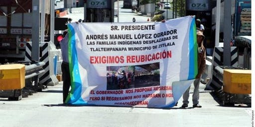 Forced Internal Displacement Triggered by Organised Crime in Central Mexico