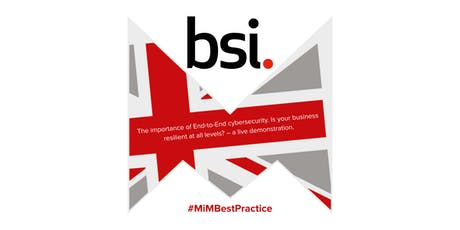 Best Practice Event at BSI Group tickets
