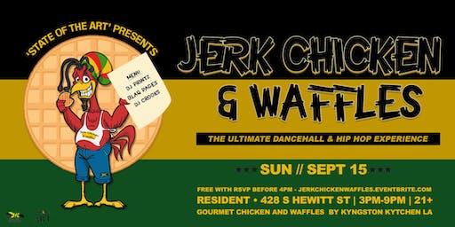 SOTA presents: Jerk Chicken and Waffles