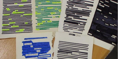 Blackout Poetry for National Poetry Day (Eccleston) tickets