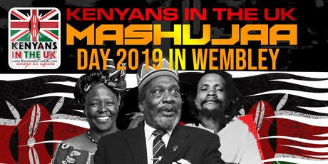 2019 MASHUJAA DAY CELEBRATIONS LONDON tickets