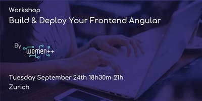 Build & Deploy Your Frontend Angular(prep Hack'n'Lead)