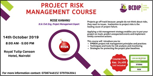 Project Risk Management Course