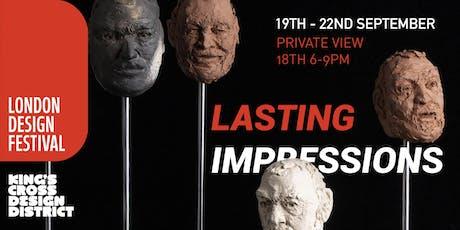 London Design Festival: Lasting Impressions tickets