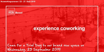 #CoworkingCaravan - Open Doors Day at Impact Hub Basel